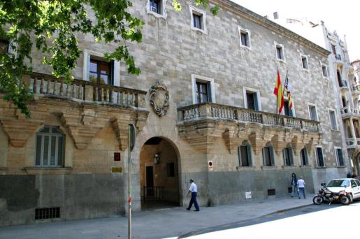 Imagen de la fachada de la Audiencia Provincial.