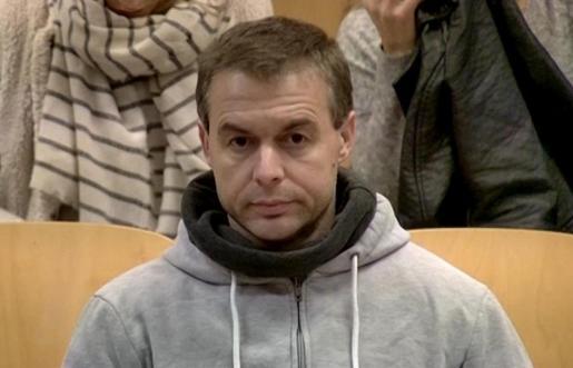 Antonio Ángel Ortiz, durante el juicio por el que ha sido condenado a 70 años y medio de prisión por secuestrar y agredir sexualmente a cuatro niñas.