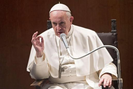 El Papa Francisco durante la visita que realizó a París el pasado domingo.