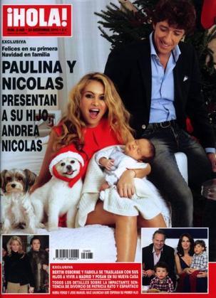 Paulina Rubio y Colate han presentado a su primer hijo.