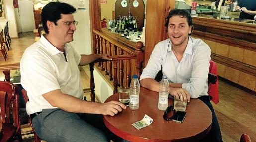 Jaume Bauçà y Sebastià Sagreras, en una imagen de archivo. El jueves se reunieron en la sede del PP.
