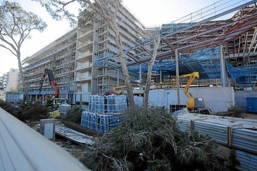 Las reformas hoteleras en la Platja de Palma están teniendo desde hace dos años un impacto directo sobre el incremento de la actividad en el sector de la construcción.