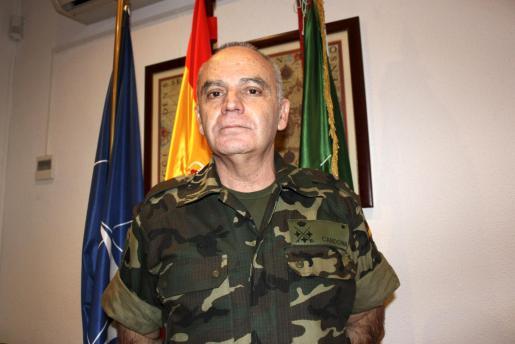El teniente general Cardona ocupa en el Cuartel General de la OTAN en Retamares, Madrid.