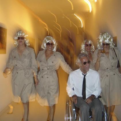 Alain Deymier, guionista y director de 'Las telas rojas', que se estrena en Eivissa.