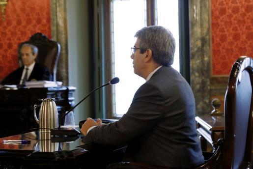El exconseller catalán, durante su declaración.