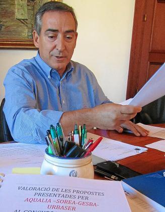 Simarro, en una imagen de su segundo mandato municipal.
