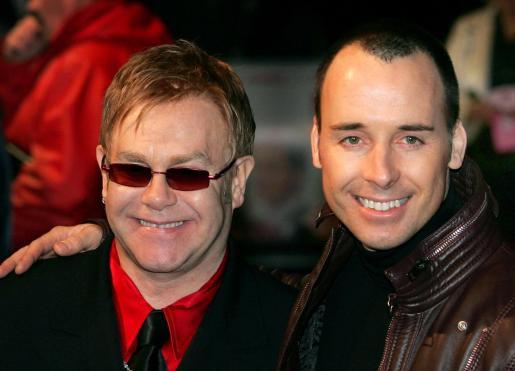 Elton John y su pareja, el cineasta canadiense David Furnish.