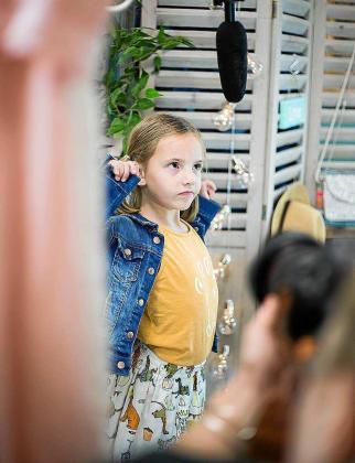 La niña protagonista, Paula Tur.