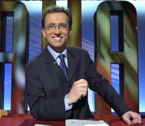 En la imagen, el presentador del programa 'Saber y ganar', Jordi Hurtado.