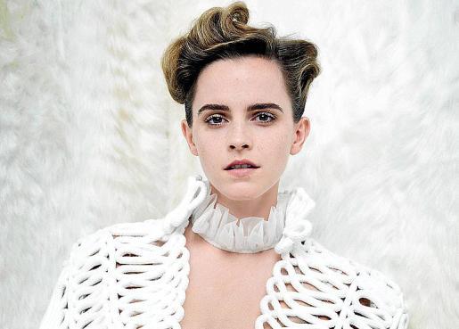 Emma Watson, en una de las fotografías de Vanity Fair.