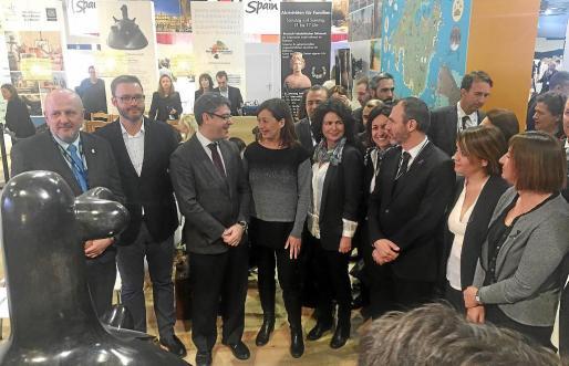 Francina Armengol transmitió esta petición al ministro Álvaro Nadal, quien se mostró «reticente», según la presidenta