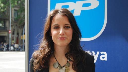 La vicesecretaria de Estudios y Programas del PP en una imagen de archivo.