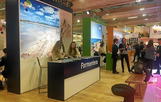Formentera está integrada en el estand que Balears tiene en la ITB de Berlín.