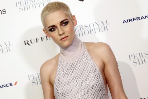 La actriz Kristen Stewart, durante la presentación de la película 'Personal shopper'.