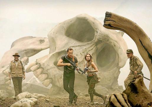 Imagen de la película dirigida por Jordan Vogt-Roberts, que se rodó el año  pasado en Hawai, Vietnam y Australia.