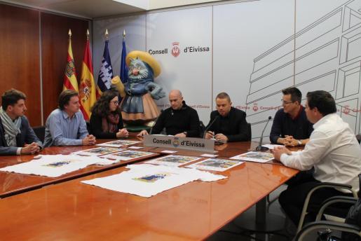 Imagen de la presentación de la nueva edición del Eivissapiens.