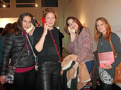Laura Molina, Kaura Marte, Bárbara Marqués y Rebeca Piñol.