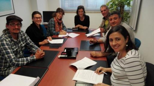 Reunión de Alianza por el Agua de Ibiza y Formentera.