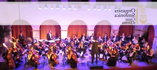 Imagen de la Orquestra Simfònica Ciutat d'Eivissa.