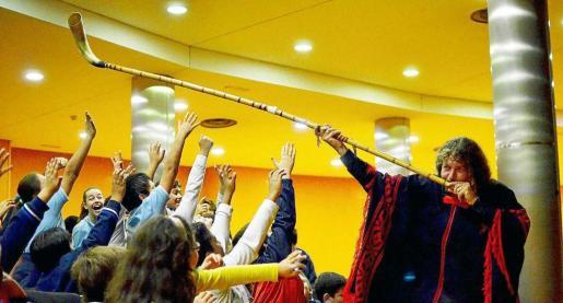 Imagen de uno de los conciertos del argentino Ricardo Nahual en Madrid.