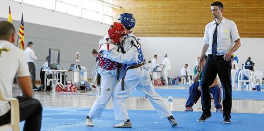 Toni Navas, director técnico de la Federación balear de taekwondo, destacó la actuación de los tres clubes locales, el Bamchun, el Ibiza y Bahía San Agustín.