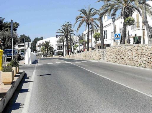 La calle dedicada a Escanellas en Sant Josep. Foto: DANIEL ESPINOSA