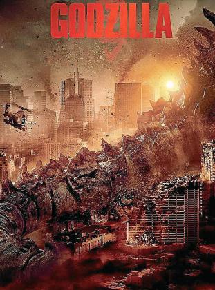 Cartel de la película 'Godzilla'.