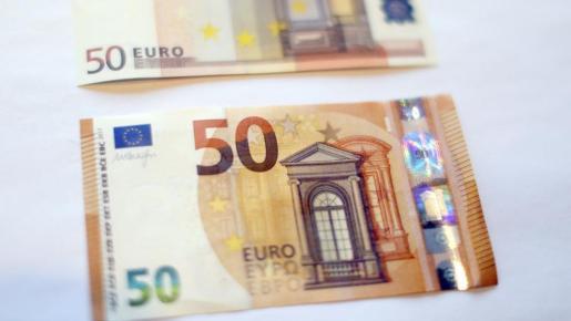Este es el nuevo billete de 50 euros.
