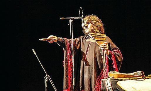 El músico y folklorista argentino Pablo Nahual.