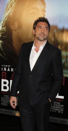 Javier Bardem, durante el estreno de la película 'Biutiful'