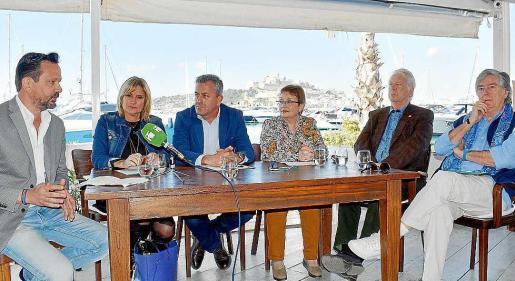 Unmomento de la presentación de las I Jornadas Gastronómicas de Ibiza y Formentera. Foto: L.G.