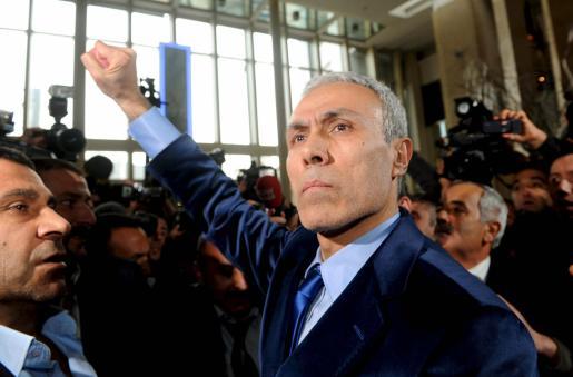 Ali Agca, en el momento de su liberación.