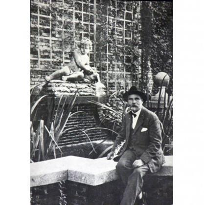 Una imagen de Javier Winthuysen tomada en 1866.