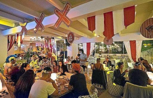Una imagen del restaurante La Belle Ibiza, ubicado en Sant Rafel.
