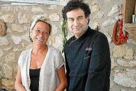 Una imagen correspondiente a la visita de Pepe Rodríguez a Ibiza, el sábado.
