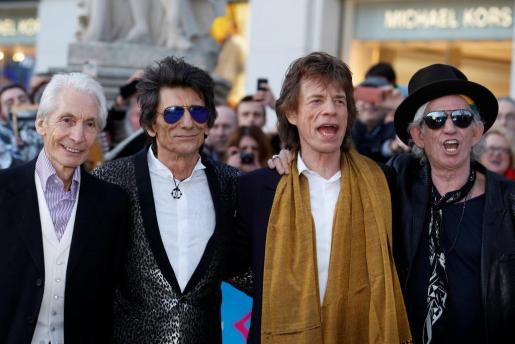 Charlie Watts, Ronnie Wood, Mick Jagger y Keith Richards-