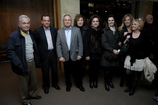 Víctor Alonso, Pedro Horrach, Joan Ramis, Margalida Mestre, Ana Zacher, Ana Fernández, Apolonia Castell y María Calderón.