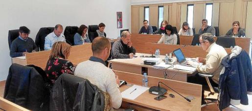 Imagen del último pleno celebrado en el Consell de Formentera.