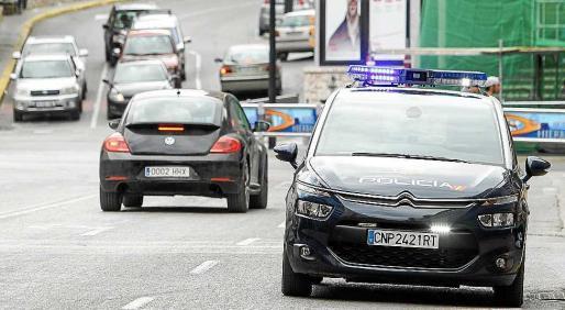 Agentes de la Policía Nacional detuvieron al autor de un tirón en bicicleta.