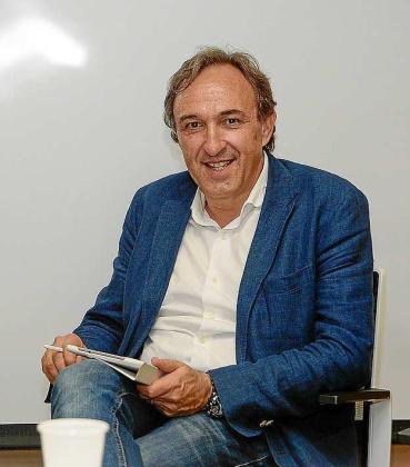 Rafael Crespí, candidato a rector de la UIB.