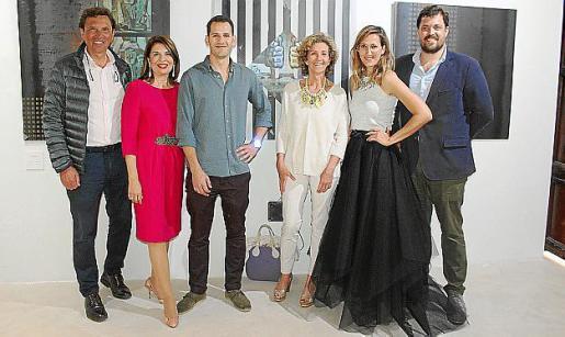 Mateo Isern, Concha Calvo, Toni Buades, María José Barceló, María Buades y Mateo Isern Barceló.