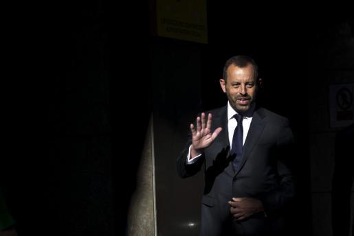El expresidente del Barcelona Sandro Rosell.