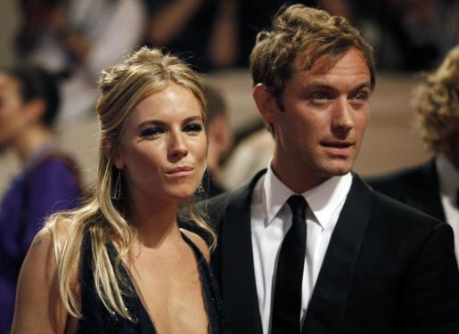 Jude Law y Sienna Miller, en una imagen de archivo.