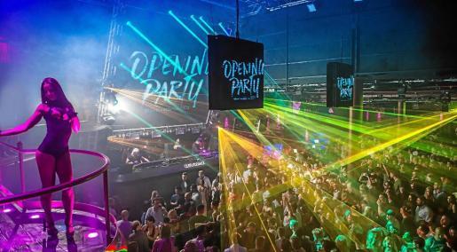 La emblemática discoteca, ubicada en Sant Rafel, abrió su temporada más potente de la historia este fin de semana.