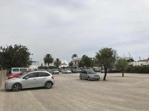 Imagen del aparcamiento de Sant Jordi.