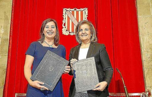 Armengol y Báñez, tras firmar el plan de lucha contra el fraude laboral.