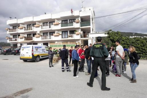 La imagen corresponde al lanzamiento del apartamento que ocupaba el exadministrador, Antonio Borregón.