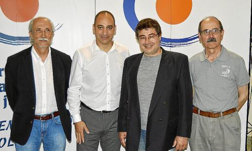 Miquel Rayó, Josep Cifre, Alfred Sala y Pere Martí.