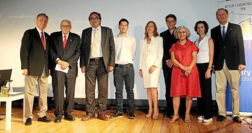 Emilio Martínez-Almoyna, Tummy Bestard, Josep Vilaseca, Borja Rodríguez, Marta Puig, David Leon Fioravanti, Margalida Escalas, Bel Riera y Jaime Jaume.