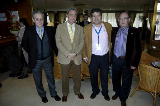 Juan Espina, Miguel Àngel Jimenez, Manuel Hernández y Luis Carrasco.